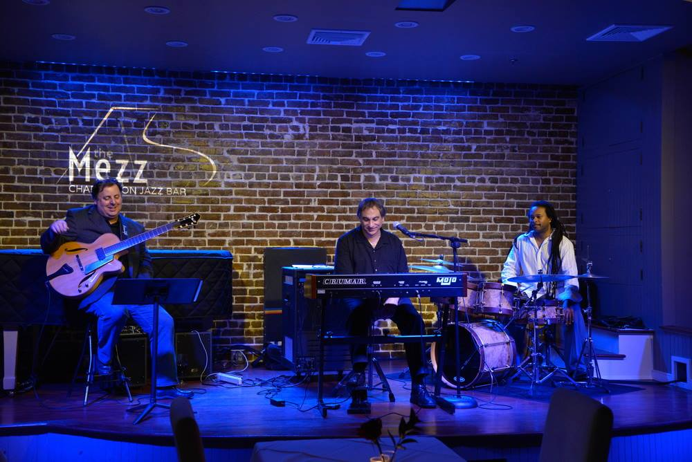 The Mezz, Charleston SC with Howard Paul, Tony Monaco, and Quentin Baxter.