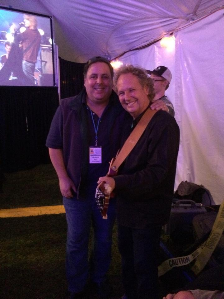 Howard Paul & Lee Ritenour  at Crown of the Continent Guitar Festival, MT