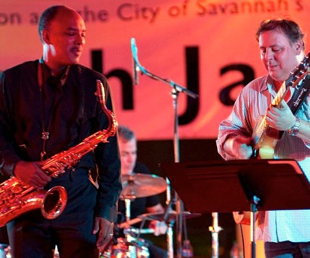 Don Braden & Howard Paul at the Savannah Jazz Festival