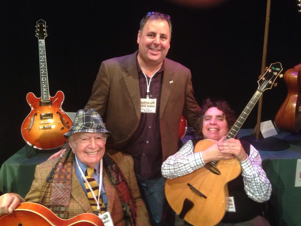 Bucky Pizzarelli, Howard Paul & Howard Alden in Woodstock, NY