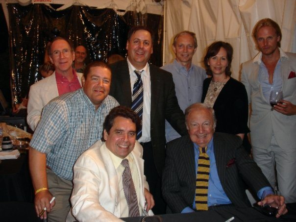 Benedetto Players in Napa:  Bob Benedetto, Dave Miner, Howard Alden, Howard Paul, David & Patricia Butler, Bucky Pizzarelli and Andreas Oberg.