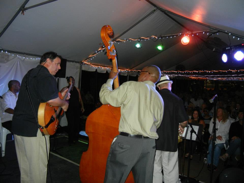 Savannah jazz Festival with Howard Paul, Delbert Felix and Jody Espina.