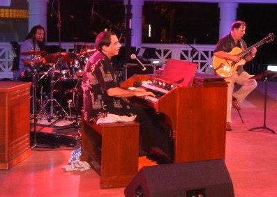 Tony Monaco, Quentin Baxter & Howard Paul, Jazz Festival