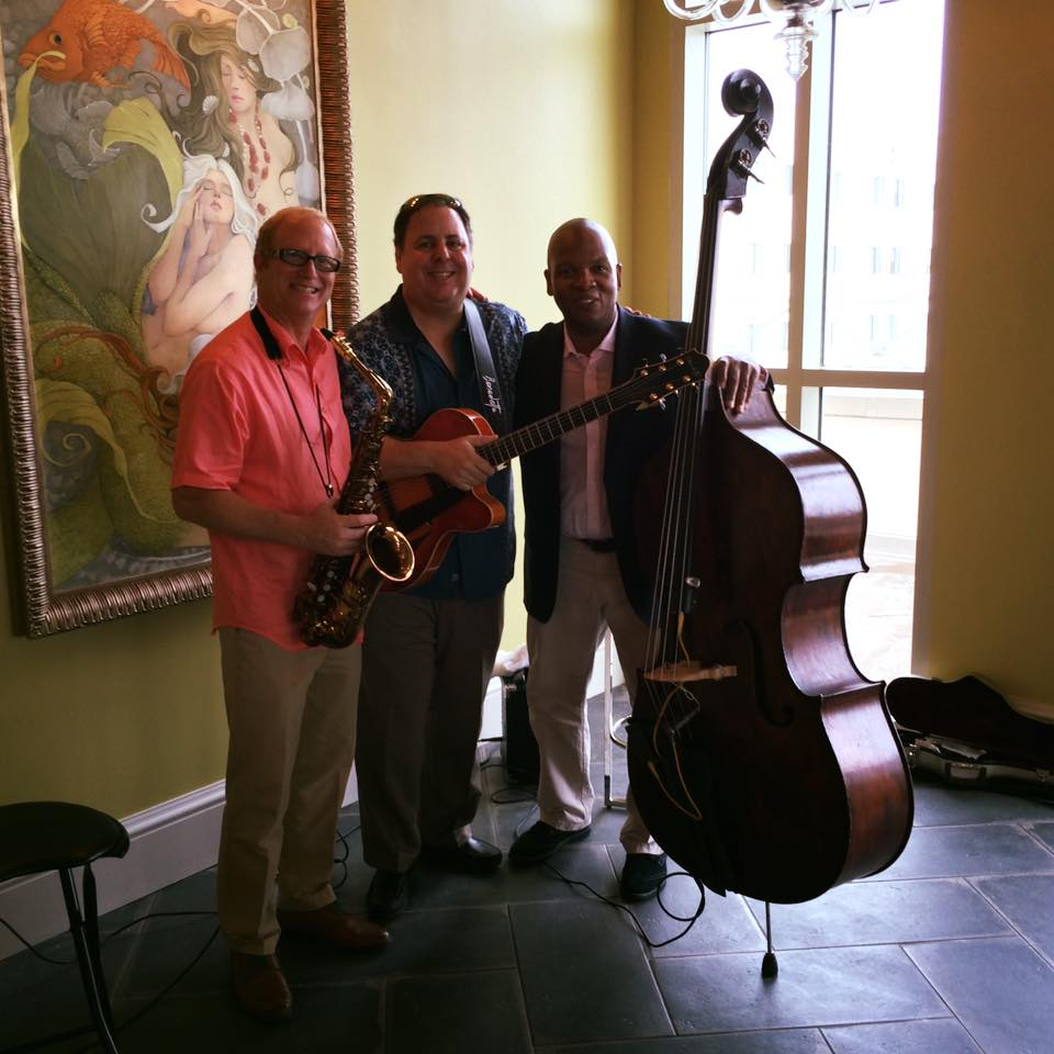 Opening of the Kessler Grand Bohemian Hotel in Charleston, SC with Jody Espina, Howard Paul, and Mark Peterson. Aug 2015