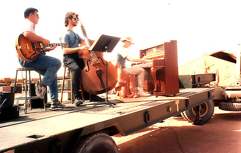 Desert Storm Concert for Airforce at King Abdul Azziz Airbase 1991