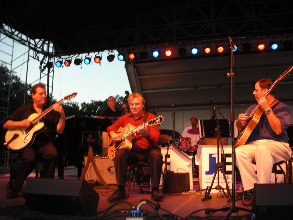 Savannah Jazz Festival 2006 with Frank DiBussolo, Jack Wilkins and Howard Paul.
