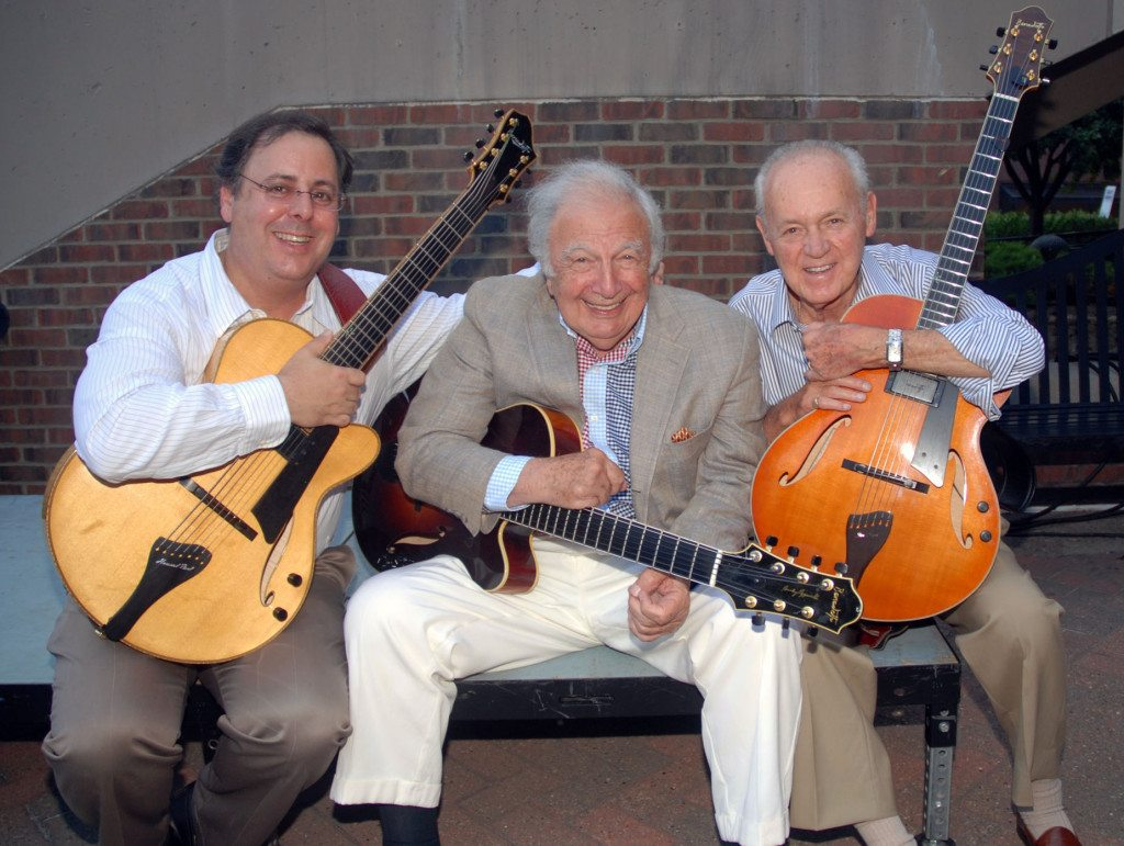 Howard Paul, Bucky Pizzarelli and Joe Negri at Duquesne University, Pittsburgh PA
