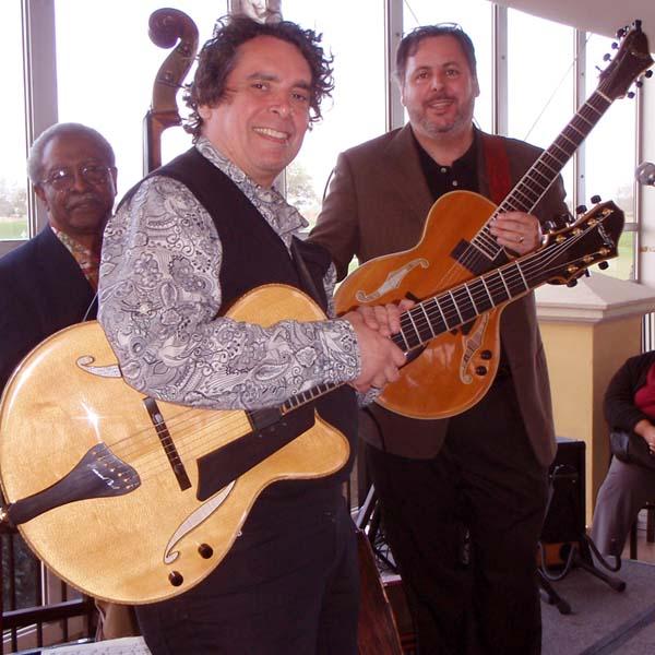 Ben Tucker, Howard Alden & Howard Paul at The Club at Savannah Harbor