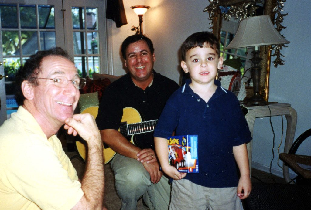 Riverview Florida with Bob Benedetto, Andy & Howard Paul 2001