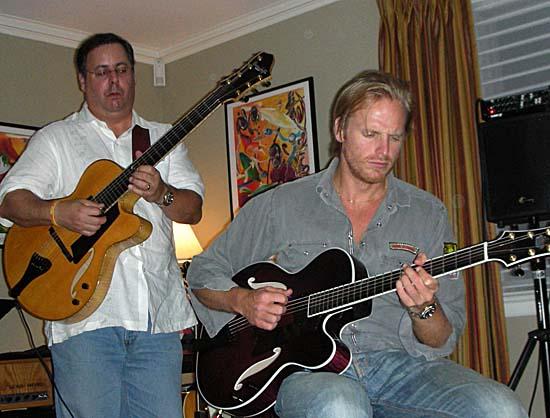 Howard Paul & Andrea Oberg, Savannah Jazz Festival Party