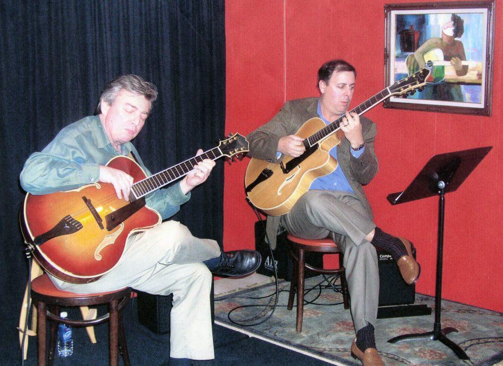 Howard Paul and Jack Wilkins at Atlanta guitar workshop