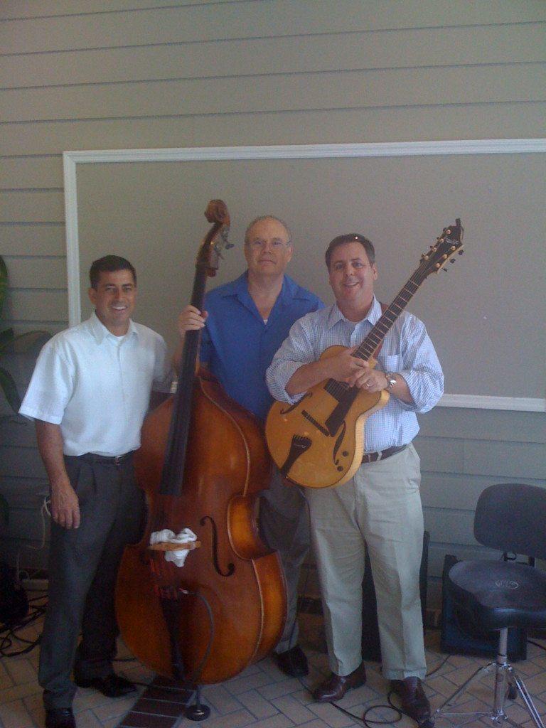 John Brackett, George Sheck and Howard Paul