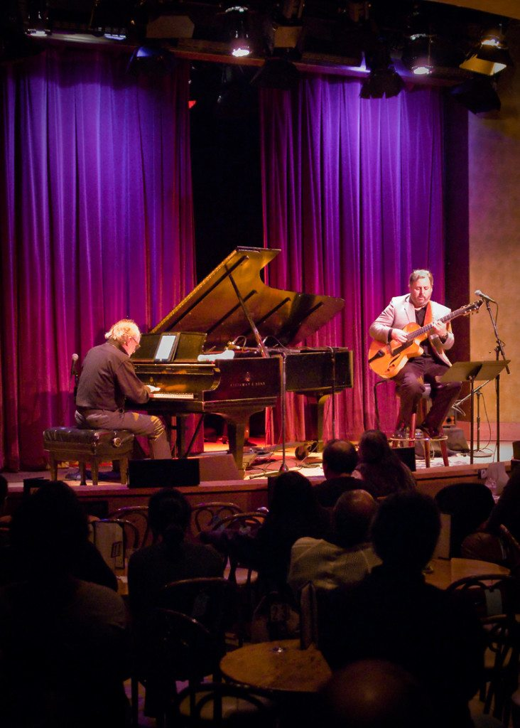 Bob James & Howard Paul at Kuumbwa Jazz.  Mike Oria Photography