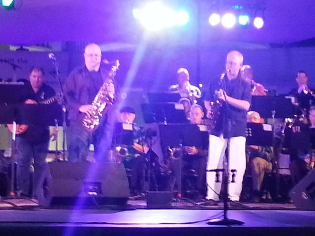 Savannah Jazz Orchestra with Howard Paul, Tom Scott and Jody Espina.