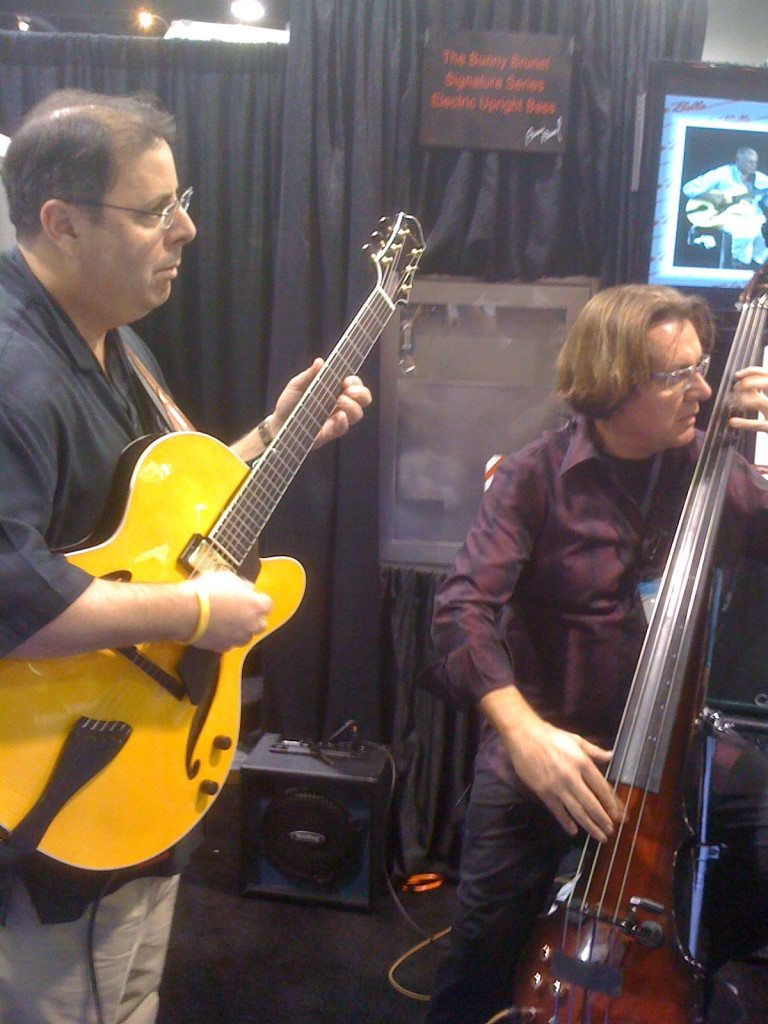 NAMM with Howard Paul and Bunny Brunel