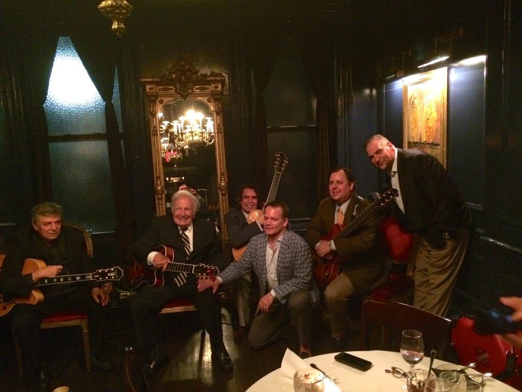 NYC w/Jack Wilkins, Bucky Pizzarelli, Howard Alden, Bruce Halus, Howard Paul and Matt Siegel