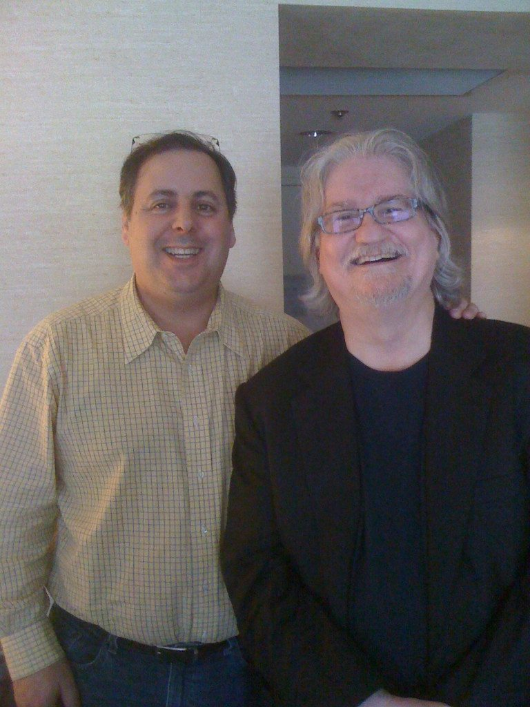 Howard Paul and piano legend George Mesterhazy in SF, CA