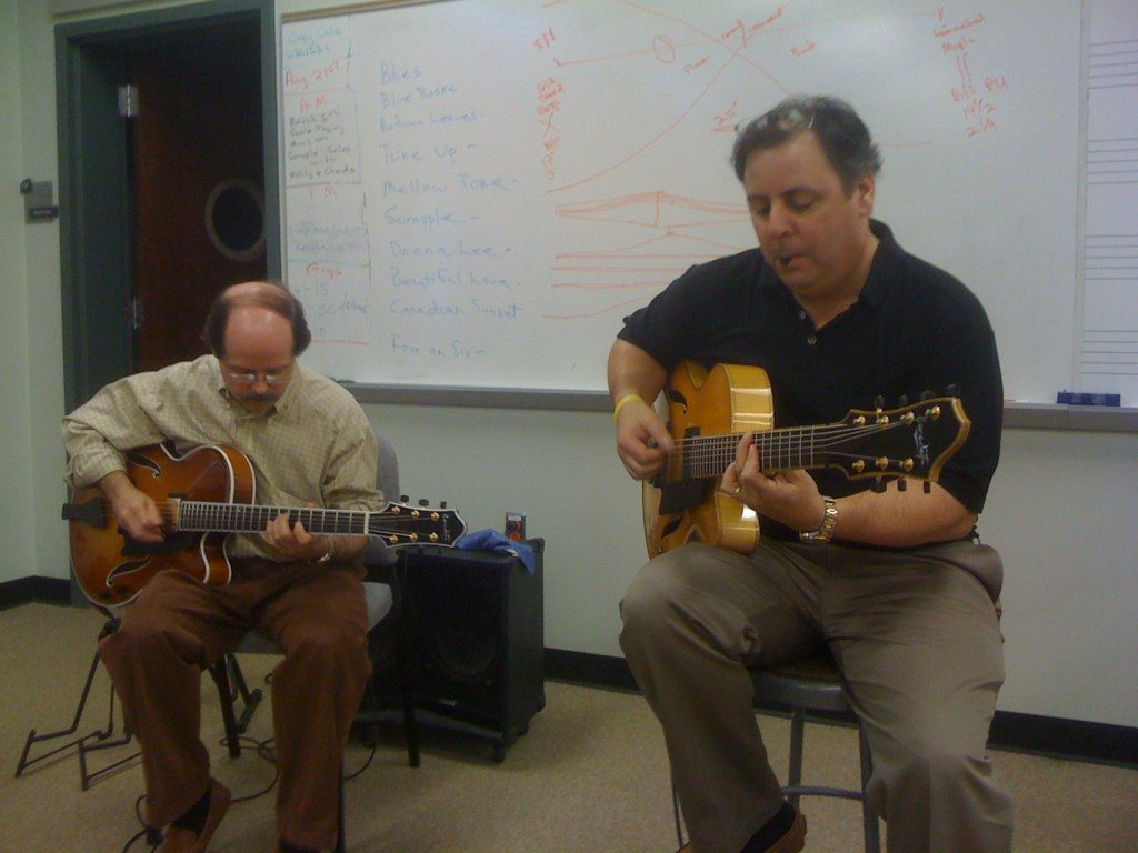 Greenville SC with Steve Watson & Howard Paul performing at SC School of the Arts.