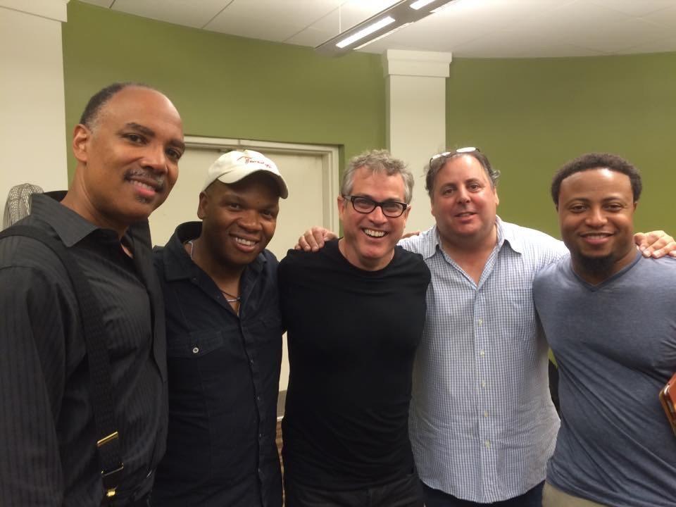 2014 Savannah Jazz Festival with sax great Don Braden, Mark Peterson, Karl Latham, Howard Paul & Eric Jones.