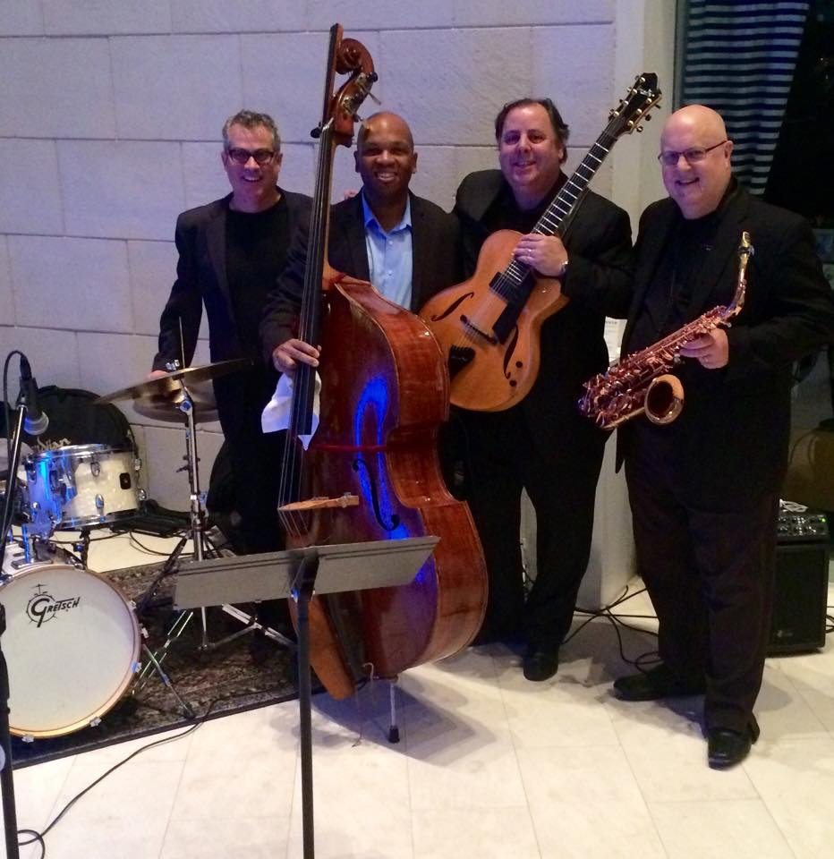 Telfair Museum with Karl Latham, Mark Peterson, Howard Paul and sax legend Tom Scott 2014