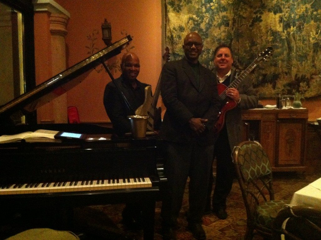 The Highlawn Pavilion with Mark Peterson, Ron Thompson, and Howard Paul