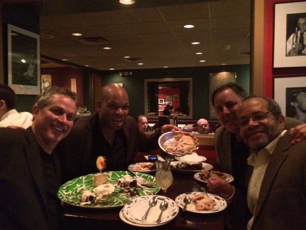 Shanghai Jazz in Madison NJ with Karl Latham, Mark Peterson, Howard Paul & Nat Adderley Jr.