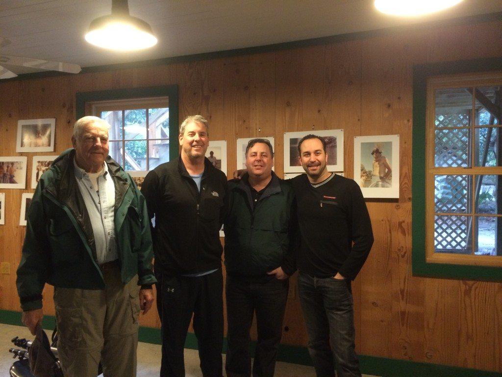 Little St. Simons Island 80th Birthday for Mr. Berolzheimer, Charles Berolzheimer, Howard Paul and Christian Tamburr