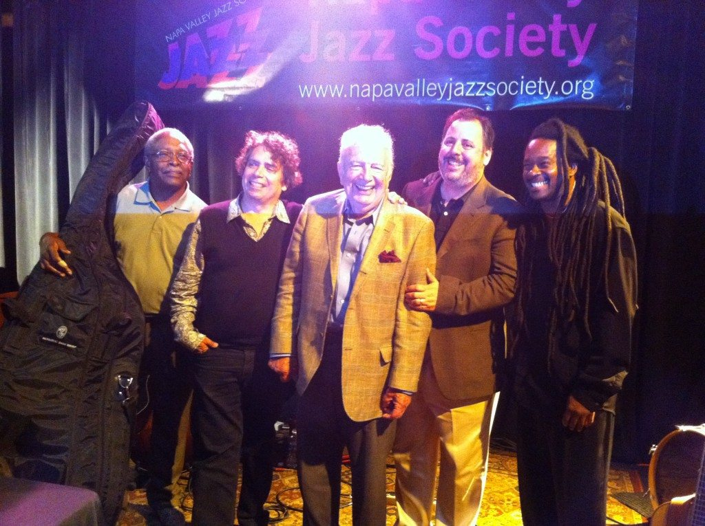 Napa Valley Jazz Society with Ben Tucker, Howard Alden, Bucky Pizzarelli, Howard Paul and Quentin Baxter