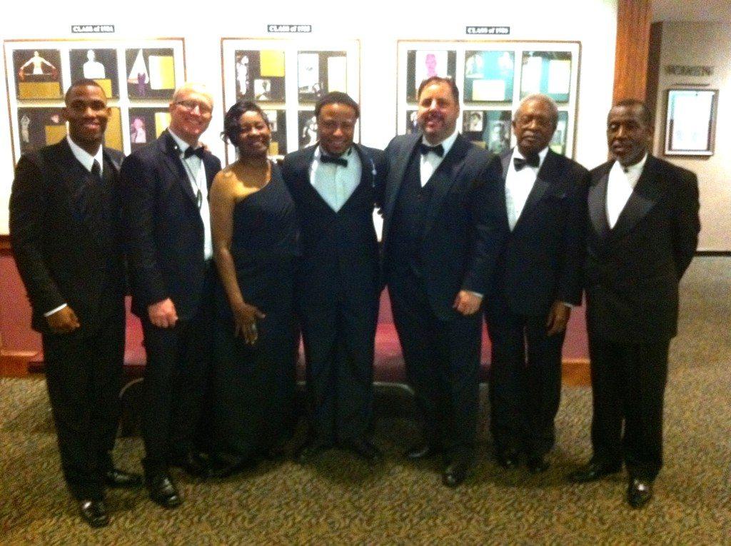 Savannah Mayor's Inauguration with Sean Boldon , Jody Espina, Huxsie Scott, Eric Jones, Howard Paul, Ben Tucker & Teddy Adams.