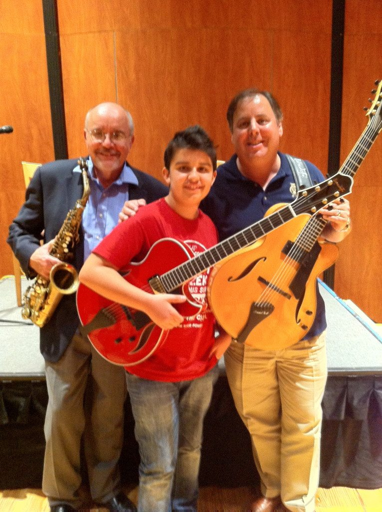 Armstrong State University performance with Dr. Randy Reese, Andreas Varady and Howard Paul