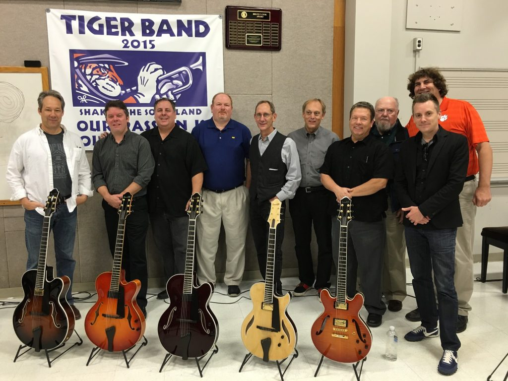 Clemson University Jazz Guitar Festival 2015