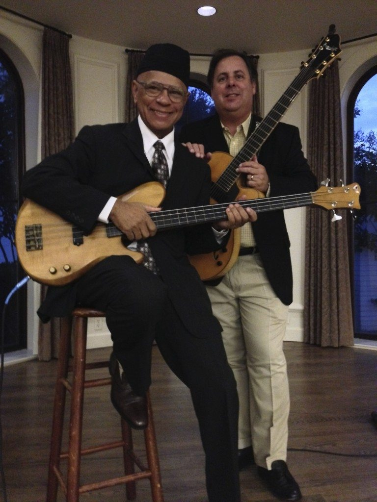 Duo in Sea Island's The Cloister Hotel with Phil Morrison and Howard Paul