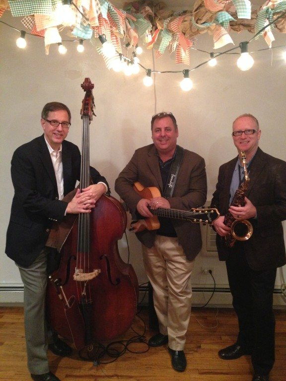 NYC performance for Savannah Economic Development Authority with Howard Paul, Jody Espina and guest bassist.