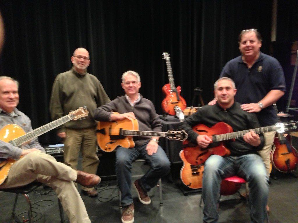 Berklee College of Music with Jon Wheatley, Larry Baione, Garrison Fewell, Luca di Luzio and Howard Paul
