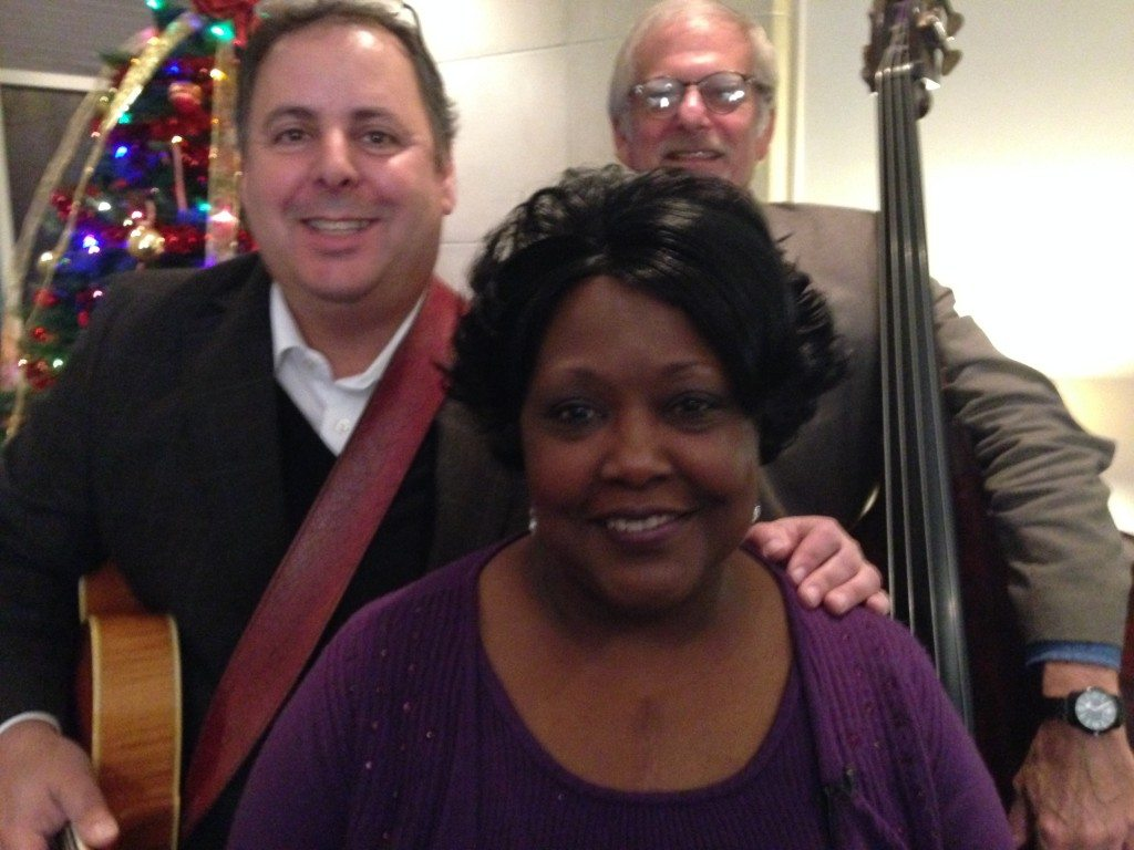 Howard Paul, Huxsie Scott and Mitch Hennes prepare for some Christmas Music on WTOC-TV