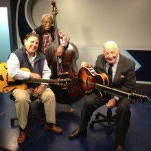 TV publicity appearance for the Coastal Jazz Association with Howard Paul, Ben Tucker & Bucky Pizzarelli.