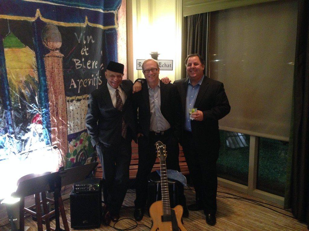 Bass great Phil Morrison with Jody Espina and Howard Paul at the Westin Resort Savannah.