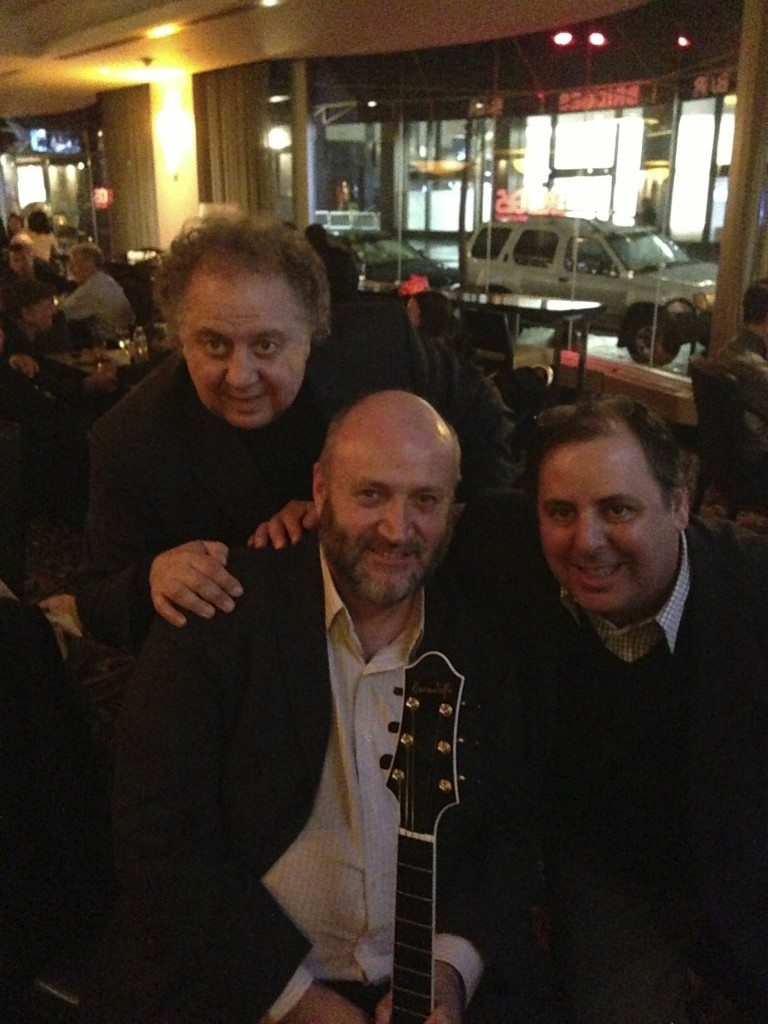 NYC with manger Joe Donofrio, Benedetto Player David O'Rourke, and Howard Paul