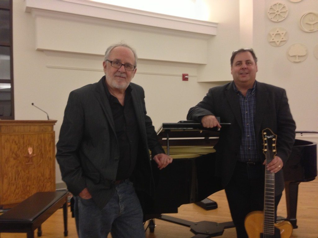 Bob James and Howard Paul at the Gainesville, FL Friends of Jazz concert