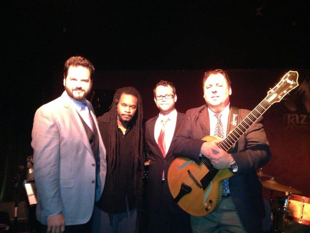 Scott Giddens, Quentin Baxter, Billy Thornton, and Howard Paul