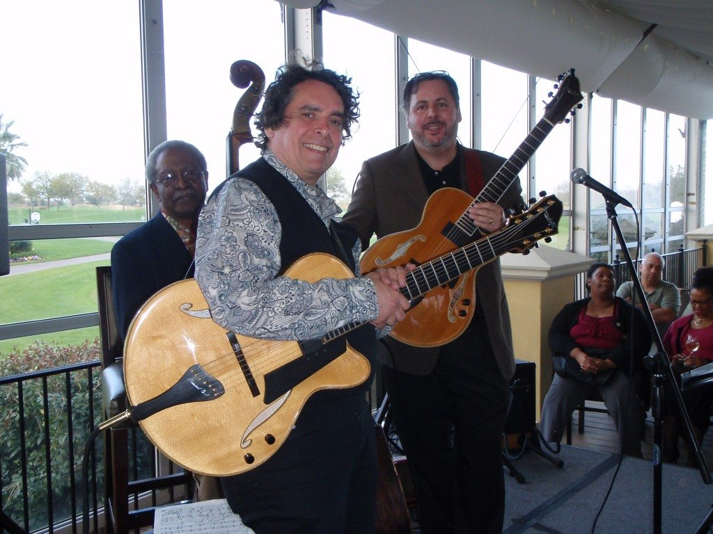 Savannah concert for CJA with Ben Tucker, Howard Alden & Howard Paul
