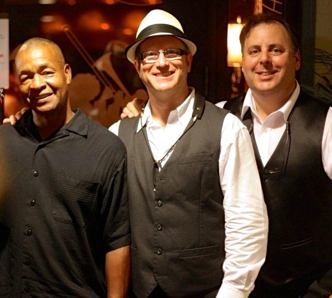 Bassist Delbert Felix, Jody Espina & Howard Paul