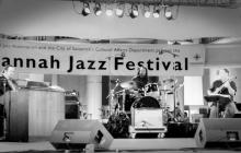 Joey DeFrancesco, Howard Paul and Quentin Baxter at 2013 Savannah Jazz Festival