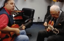 """Office visit with Bucky Pizzarelli.  """"Just Friends"""""""