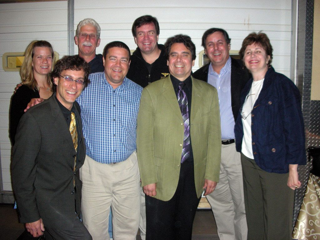 2007 Miner Winery with Emily Miner, Frank Vignola, Gary Brookman, Dave Miner, Mark Stovall, Howard Alden, Howard Paul and Cindy Benedetto.