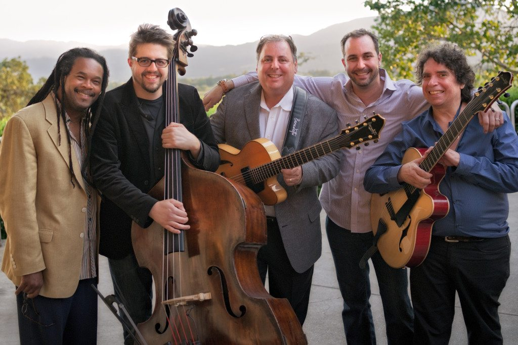 Miner Wine Release w/Quentin Baxter, Jeff Denson, Howard Paul, Christian Tamburr, and Howard Alden.   Mike Oria Photography