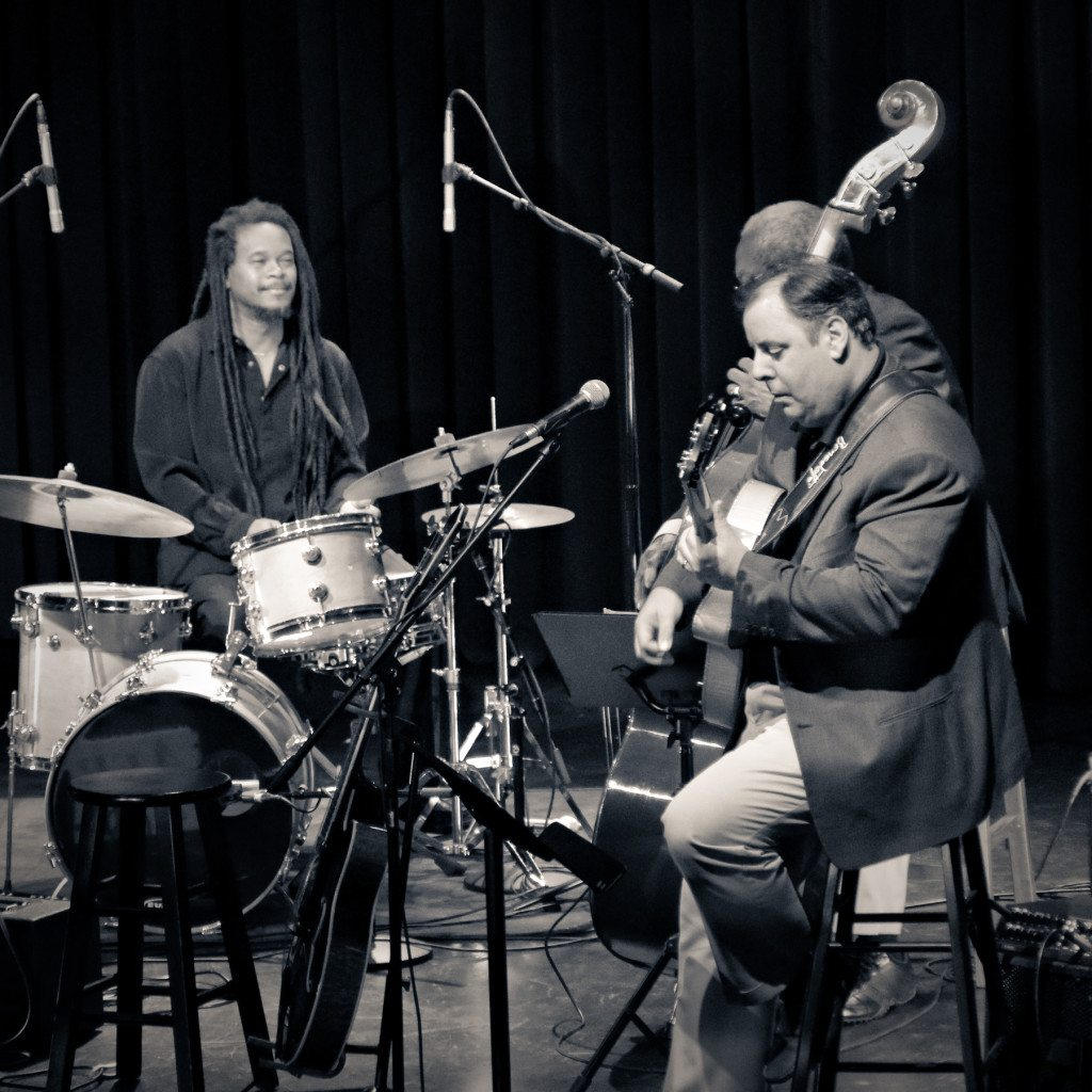 Napa Valley Opera House w/Quentin Baxter, Ben Tucker and Howard Paul.  Mike Oria Photography