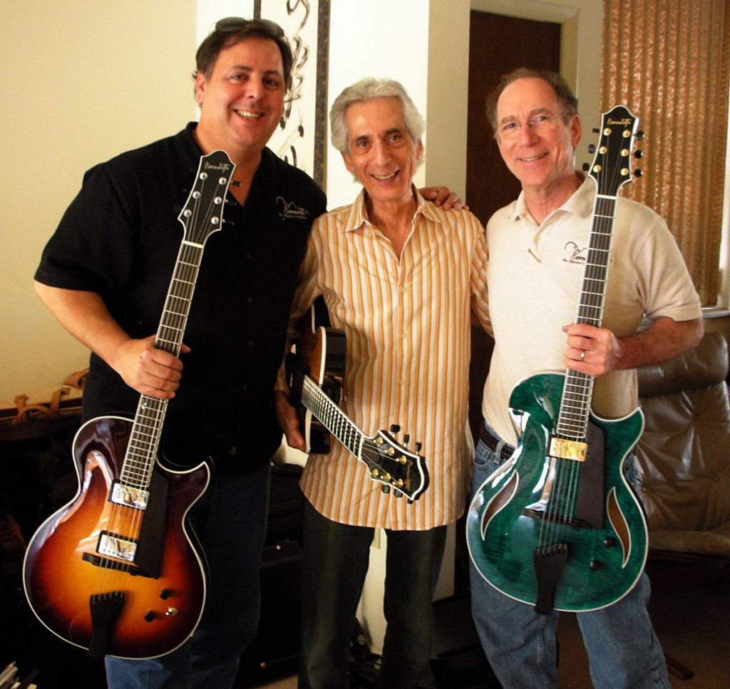 Howard, Pat Martino and Bob visit Pat's house in South Philadelphia 5/25/2009