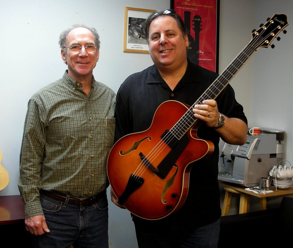 Bob and Howard with new 16B Custom build for Howard 2014.