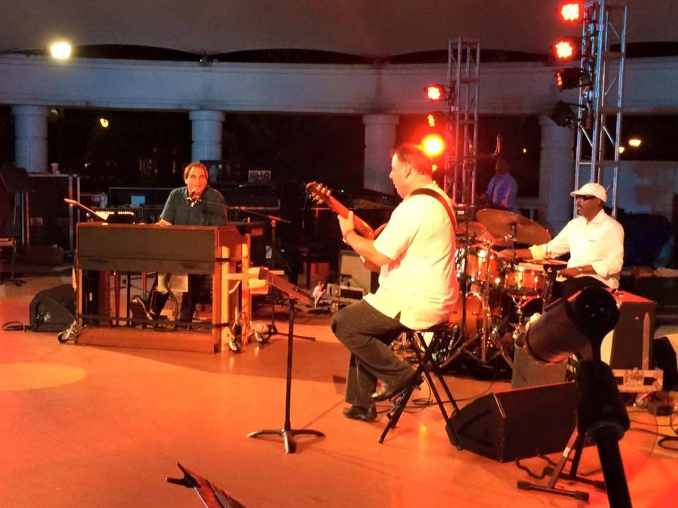 2015 Savannah Jazz Festival: Tony Monaco, Harvey Mason, Howard Paul (Photo by Asako Monaco)